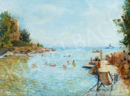 Herman, Lipót - Bathers by the Adriatic, 1933