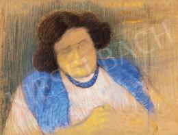 Rippl-Rónai József - A művész felesége (Lazarine)