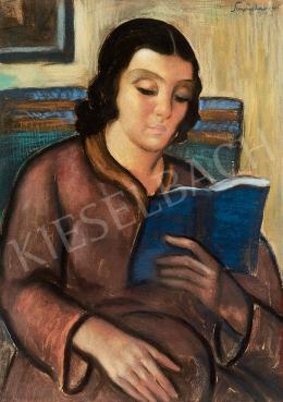 Schönberger Armand - Olvasó nő