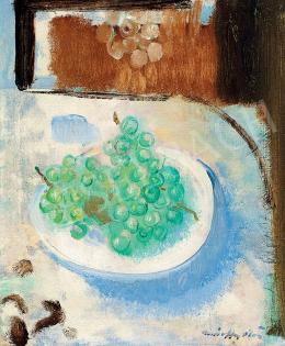Márffy, Ödön - Still-life with Grapes (Autumn)