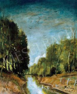 Rudnay Gyula - Hajnal az erdő szélén