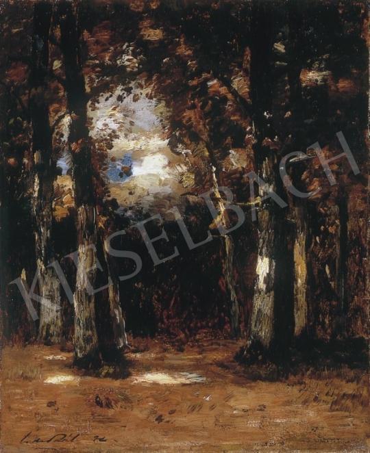 Paál László - Barbizoni erdőbelső | 9. Aukció aukció / 177 tétel