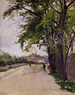 Berkes, Antal - Street in the suburbs