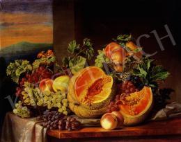 Barabás, Henriette and Barabás, Miklós - Still life of fruits