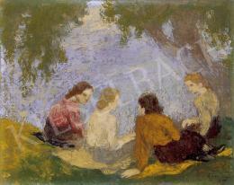 Szőnyi, István - By the lake