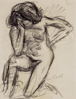 Czóbel, Béla - Nude