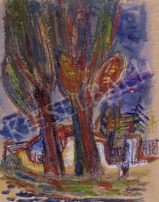 Ámos, Imre - Walk in Szentendre | 8th Auction auction / 24 Item
