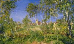 Kapussy György - Fót látképe