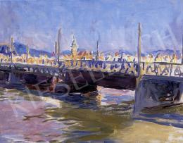 Ferenczy Valér - Hídon