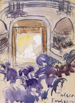 Vaszary János - A párizsi Palace színház