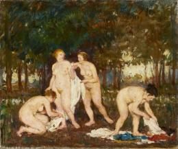 Gaál, Ferenc - Nudes in Open Air (1923)