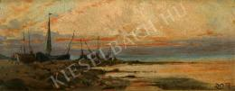 Unknown painter - Boats on the see