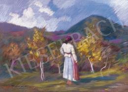 Thormáné Kiss Margit - Ősz a Kereszthegy lábánál