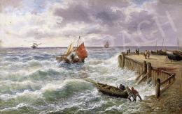 A. Rove jelzéssel, 19. század vége - Hullámzó tenger