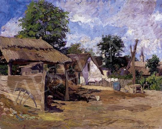 Zemplényi Tivadar - Napsütötte tanyaudvar   8. Aukció aukció / 133 tétel