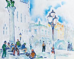 Pécsi-Pilch, Dezső - Venice (St. Mark's Square) (1931)