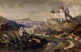 Háry Gyula - Táj várral