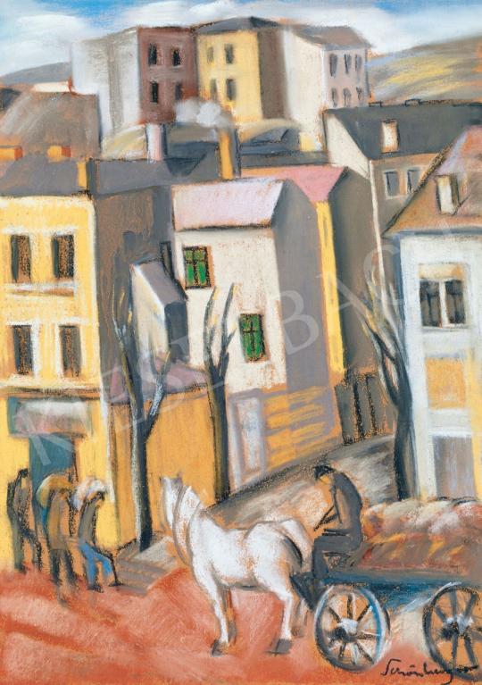Schönberger Armand - Városrészlet | 46. Aukció aukció / 15 tétel