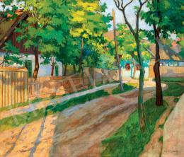 Kléh János - Árnyas utca (1910 körül)