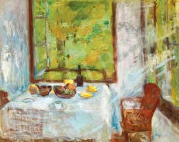 Iványi Grünwald, Béla - Breakfast in the Sunny Porch (1930s)
