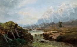 Telepy Károly - Tátrai táj