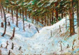 Nagy István - Havas erdő (Erdély) (1912)