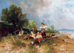 Böhm, Pál - By Lake Balaton