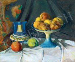Szigeti Jenő - Csendélet almákkal