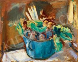 Márffy, Ödön - Kitchen Still-Life