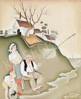 Basilides Barna - Horgászat