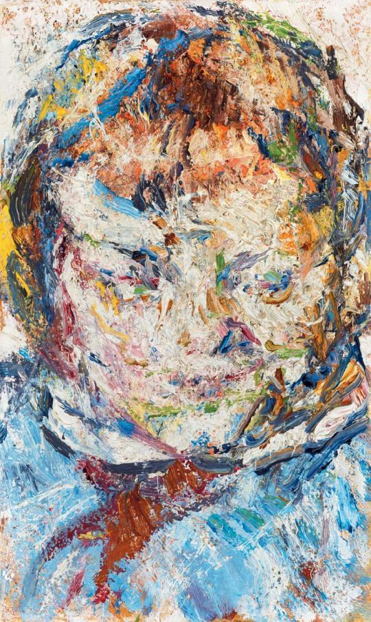 Veszelszky Béla - Kislányfej (Kunst Krisztina) | 46. Aukció aukció / 116 tétel