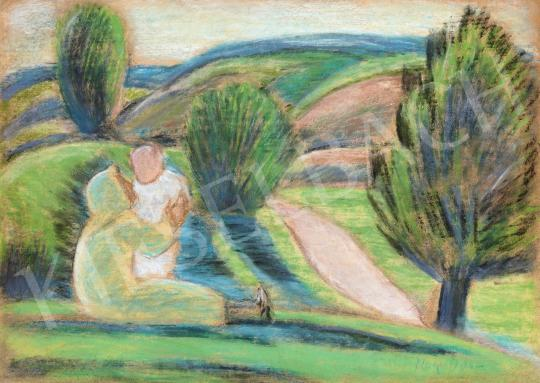 Nagy István - Anya gyermekével | 46. Aukció aukció / 121 tétel