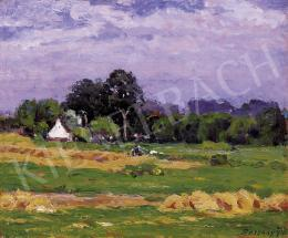 Bosznay, István - Landscape on the Great Plain