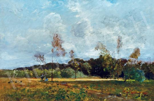 Paál László - Tájkép | 46. Aukció aukció / 156 tétel