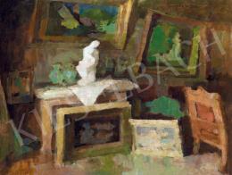 Nagy Oszkár - A művész nagybányai műterme