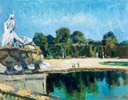 Iványi Grünwald Béla - Bécsi kastélypark (Schönbrunn)