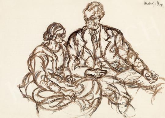 Moholy-Nagy László - Figurális kompozíció | 46. Aukció aukció / 196 tétel