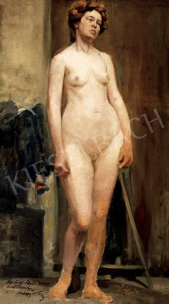 Márffy Ödön - Álló női akt | 46. Aukció aukció / 198 tétel