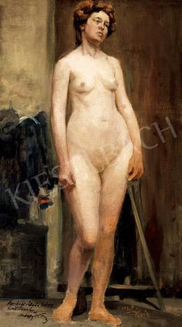 Márffy, Ödön - Standing Female Nude