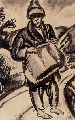 Uitz Béla - A hűvösvölgyi postásfiú