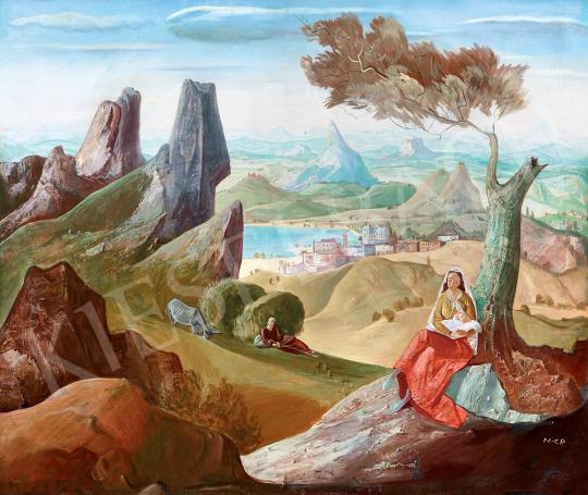 Molnár C. Pál - Menekülés Egyiptomba | 47. őszi aukció aukció / 12 tétel
