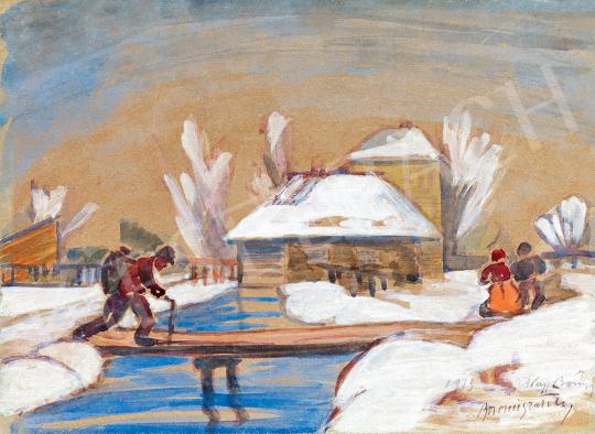 Boromisza, Tibor - Winter in Nagybánya | 47th Autumn Sale auction / 13 Item