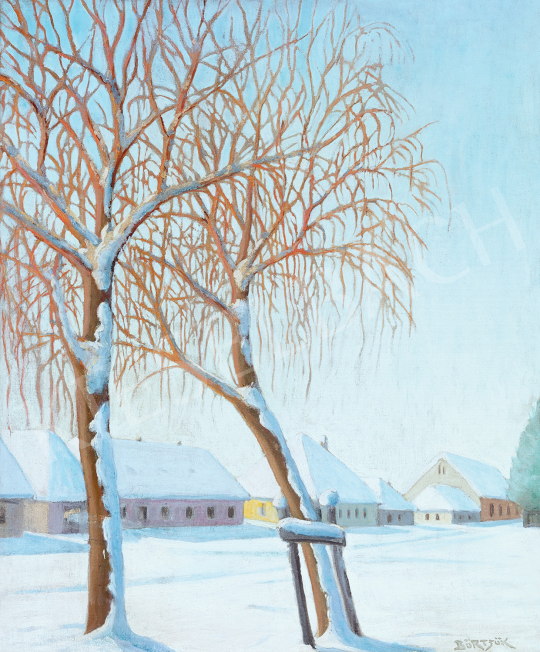 Börtsök, Samu - Silence (Winter in Nagybánya) | 47th Autumn Sale auction / 14 Item