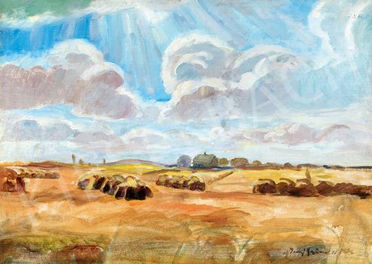 Iványi Grünwald, Béla - Landscape (Sunshine Through Clouds) | 47th Autumn Sale auction / 16 Item