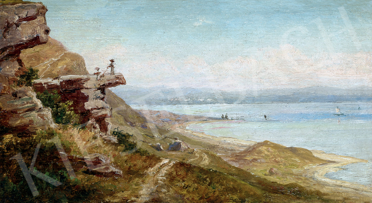 Telepy Károly - Balatoni táj   47. őszi aukció aukció / 17 tétel