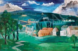 Czene Béla - Olasz táj (1935)