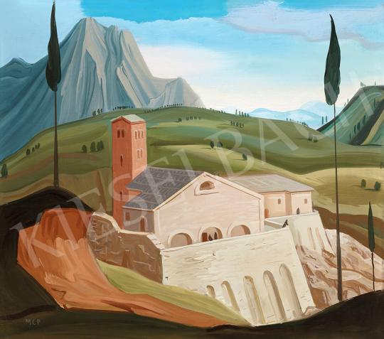 Molnár C., Pál - Italian Town (Toscana) | 47th Autumn Sale auction / 20 Item