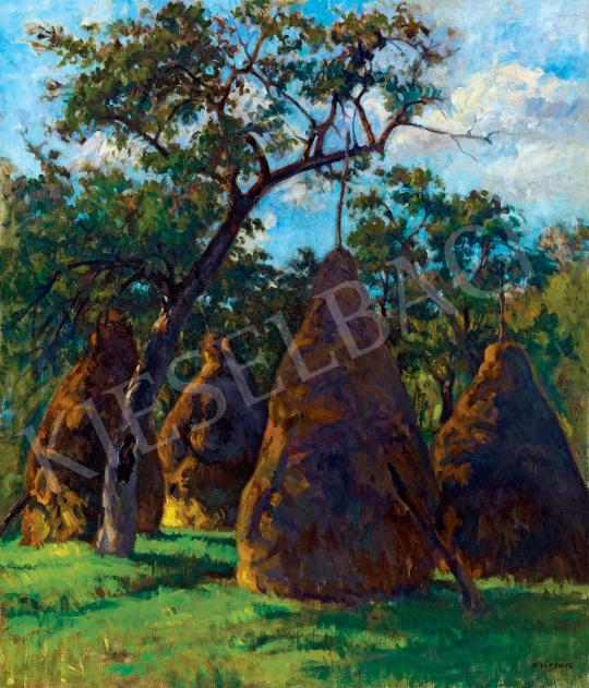 Krizsán, János - Lights in the Garden (Nagybánya) | 47th Autumn Sale auction / 37 Item