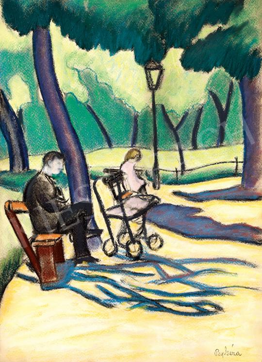 Pap, Géza - In the Park (Városliget) | 47th Autumn Sale auction / 41 Item