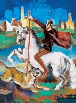 Rozgonyi László - A fehér lovas (1930 körül)